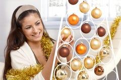 El conseguir listo para la Navidad Imágenes de archivo libres de regalías