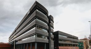 El Consejo del Condado del departamento francés Bas-Rhin imagen de archivo libre de regalías