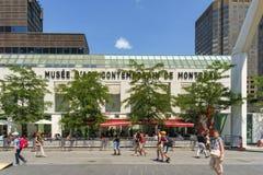 El contemporain de Montréal del d'art de Musée Fotografía de archivo