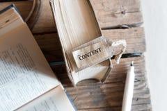 El contenido de la palabra Imagen de archivo libre de regalías