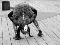 El contorsionista Fotos de archivo libres de regalías