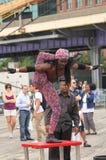 El contorsionista Foto de archivo libre de regalías
