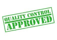 El control de calidad aprobó Fotografía de archivo libre de regalías