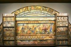 El convenio del arco iris - el encuentro de la arca Fotos de archivo