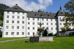 El convento de Engelberg Fotos de archivo libres de regalías