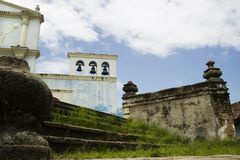 el convento Nikaragui w Granada Fotografia Stock
