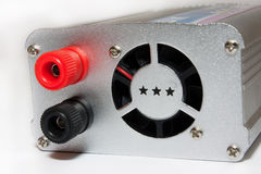 El convertidor de poder enchufa Foto de archivo libre de regalías