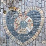 El corazón de Midlothian Imagenes de archivo