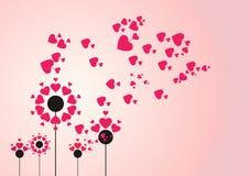 El corazón del vuelo. Imagen de archivo libre de regalías