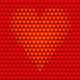 El corazón en backgroung. stock de ilustración
