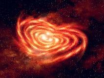 El corazón del universo Foto de archivo libre de regalías