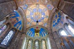 El coro de la iglesia Imagen de archivo
