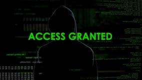 El cortar concedido, acertado del acceso, ataque cibernético en datos personales o cuenta almacen de metraje de vídeo