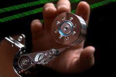 El cortar de los datos Imágenes de archivo libres de regalías