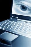 El cortar del ordenador Imágenes de archivo libres de regalías