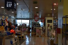 El Corte Inges store in Lisbon. Portugal in Europe Royalty Free Stock Image