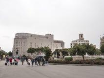 EL Corte Ingles, Barcellona fotografie stock