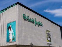 El Corte Ingles Department Store Royalty Free Stock Image