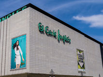 El Corte Ingles Department Store Royalty Free Stock Image