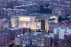 El Corte Ingles zakupy centrum handlowe Obrazy Royalty Free