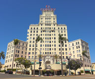 An El Cortez Apartment Hotel Shot, San Diego Royalty Free Stock Photography