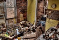 El cortijo abandonado en Dakota del Sur decae lentamente fotografía de archivo
