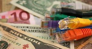 El coste de ÉL Foto de archivo libre de regalías