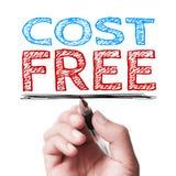 El coste libera Fotografía de archivo