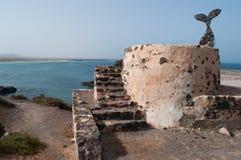 El Cotillo, Фуэртевентура, Канарские острова, Испания Стоковые Фото