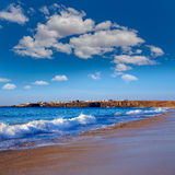 El Cotillo Beach Fuerteventura Canary islands Royalty Free Stock Photography