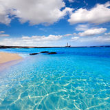 El Cotillo beach Toston lighthouse Fuerteventura Stock Image