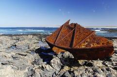 El Cotillo coast - Fuerteventura royalty free stock photos