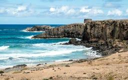 EL Cotillo de Fuerteventura Imagens de Stock Royalty Free