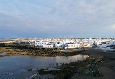 EL Cotillo ein Fischerdorf an der Westküste von Fuerteventura Stockfotografie