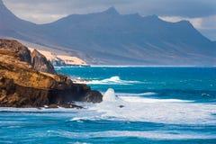 El Cotillo a Fuerteventura Canary island Spain Royalty Free Stock Images