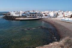 EL Cotillo, Fuerteventura, Ilhas Canárias, Espanha Fotos de Stock