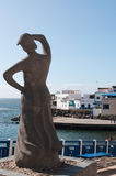 EL Cotillo, Fuerteventura, Ilhas Canárias, Espanha Imagens de Stock Royalty Free