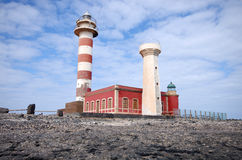 El Cotillo LightHouse, Fuerteventura, Spain Stock Photography