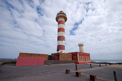 El Cotillo LightHouse, Fuerteventura, Spain Royalty Free Stock Photo