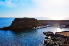 El Cotillo port  Fuerteventura Canary Islands Royalty Free Stock Image