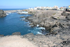 El Cotillo Volcanic Coast Royalty Free Stock Photography