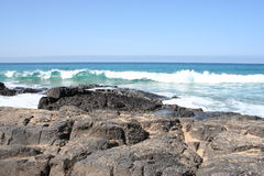 El Cotillo Volcanic Coast Stock Photography