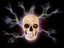 El cráneo I stock de ilustración