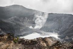 El cráter de la reina Fotos de archivo