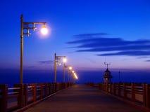 El crepúsculo Imagen de archivo