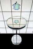 El crisol en el espejo foto de archivo
