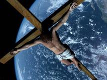 El Cristo ilustración del vector