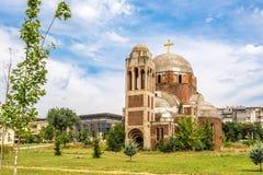 El Cristo la catedral del salvador Fotografía de archivo
