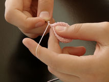 El Crocheting Fotografía de archivo