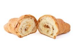El Croissant rellenó imágenes de archivo libres de regalías